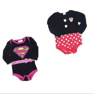 Other - 2 Infant Girls Bodysuits, Size 6-12 Months